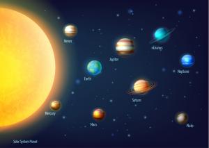 10個の天体
