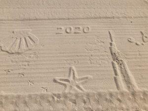 ドバイの砂浜